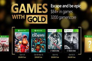 Games with Gold Oktober 2016