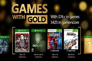 Games with Gold December 2016