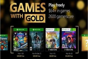 Games with Gold November 2016