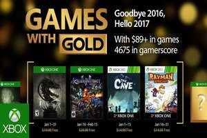 Games with Gold Januari 2017
