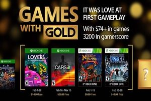 Games with Gold februari 2017