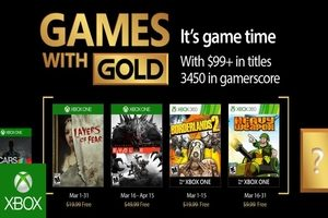 Games with Gold maart 2017
